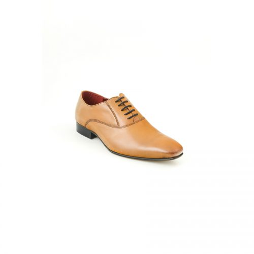 Chaussures Christian Laurier Lannoy tabac
