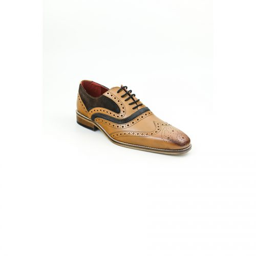 Chaussures Christian Laurier Otys tabac marron